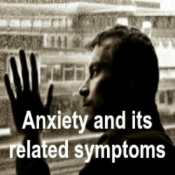 Anxiety and its related symptoms image