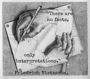 Friedrich Nietzsche and M.C. Escher with Hypnotherapist in Central London image