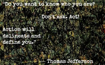 Thomas Jefferson and Jackson Pollock with Stress Management Training in London Image