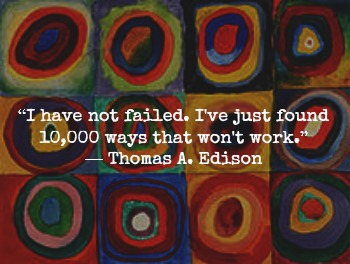Thomas Edison and Kandinsky with Anxiety Hypnotherapist in London