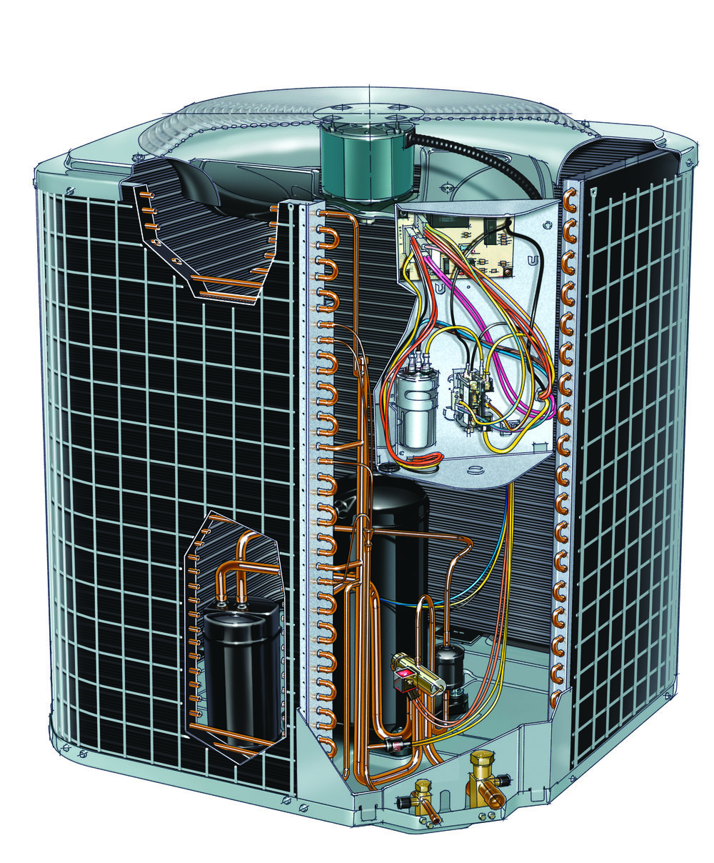 N-Series Heat Pump Cut-away