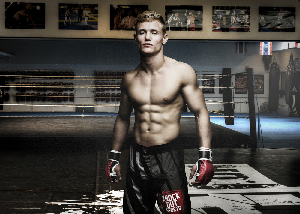 JONAS - PRO MMA FIGHTER - PROJECT PASSION