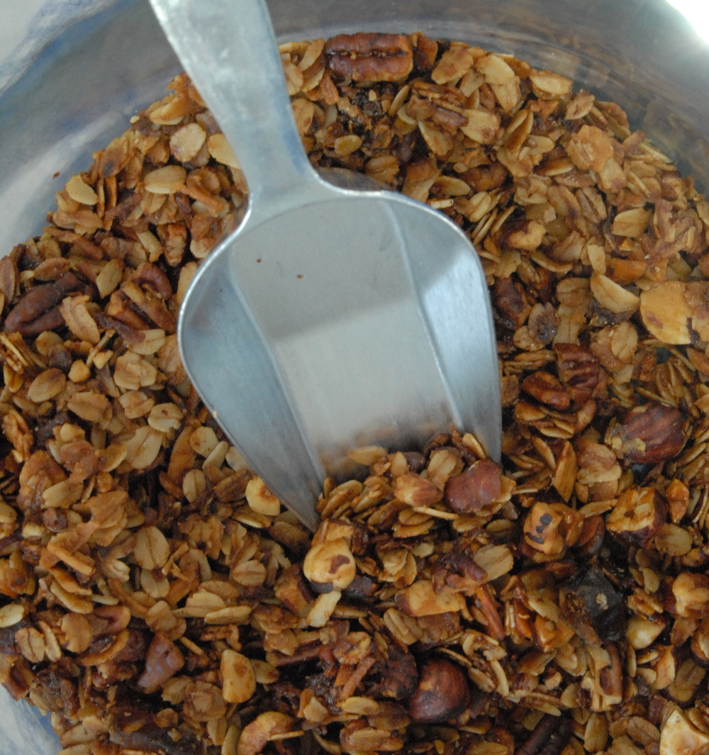 Nutty Winter Granola