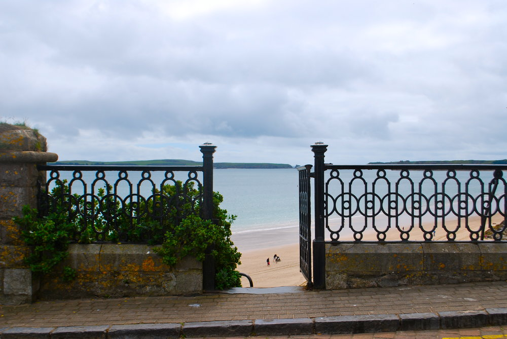 Gate of Temby Beach