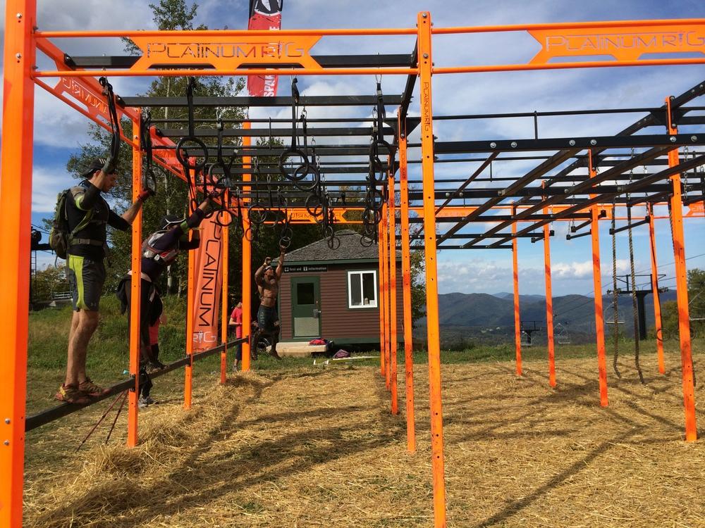 The rig. Photo courtesy of Amanda Ricciardi