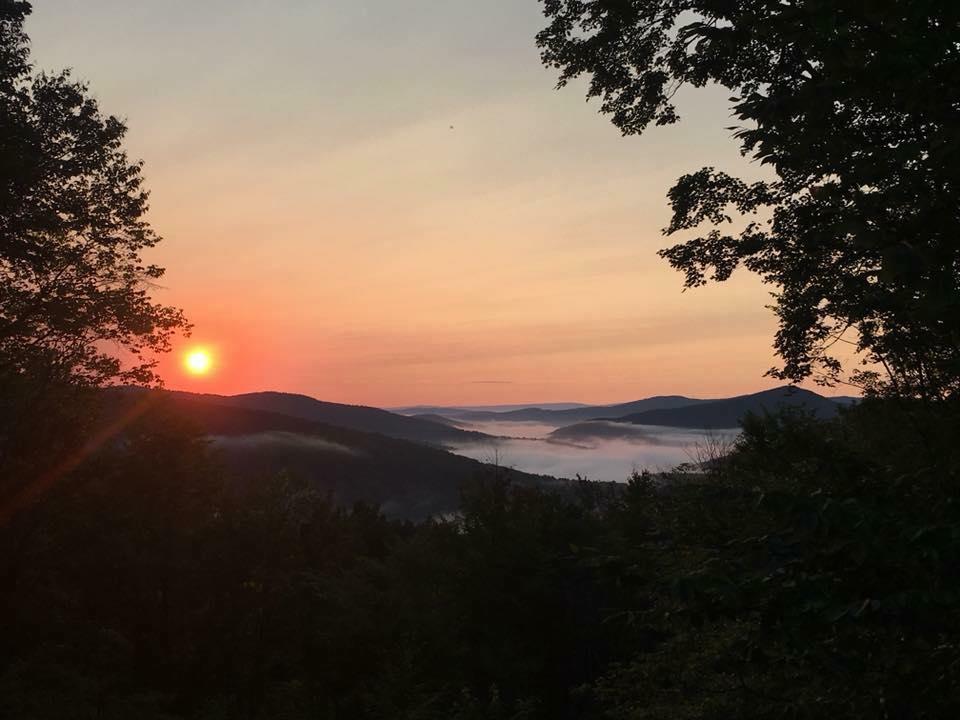 The morning sunrise! - Photo credit Melinda Harris