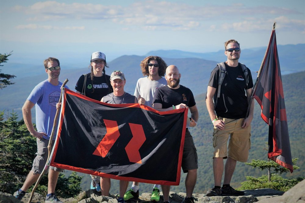 Planting the team flag atop K1, as is tradition. Thanks Mo for the pic!