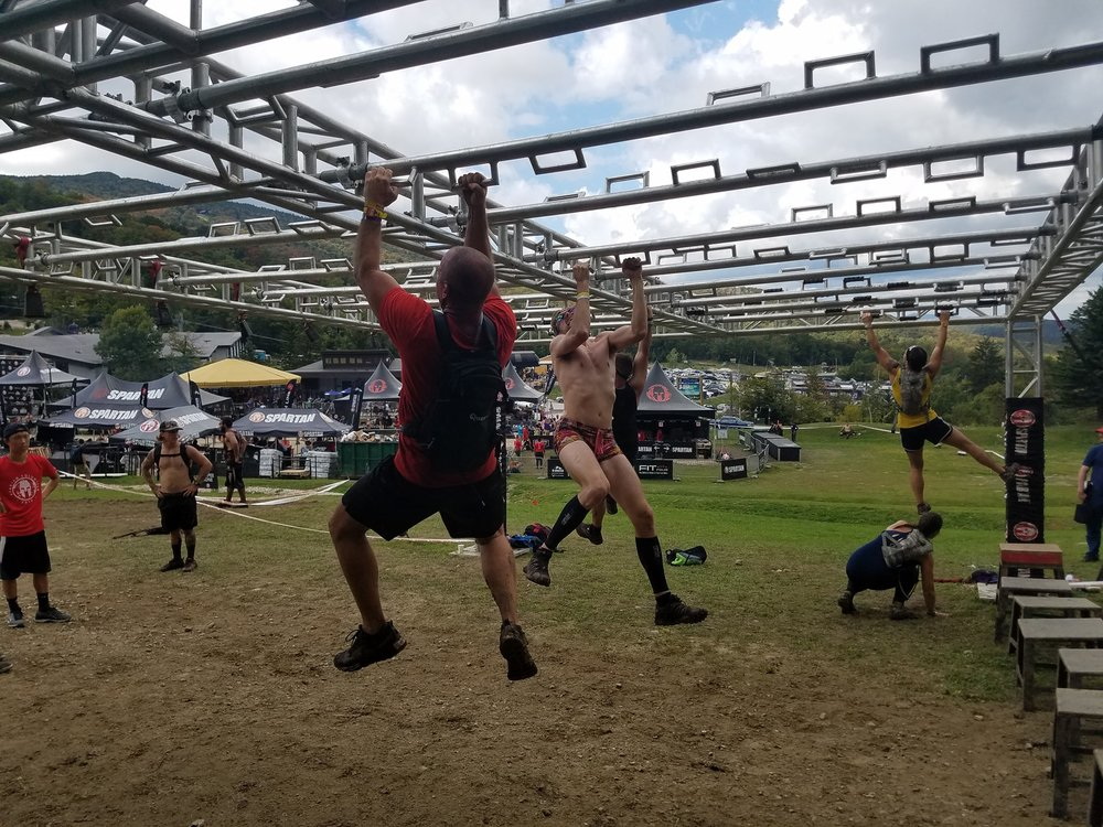 Only picture of twister I could find. This is me on day two at the beast. Sorry, I didn't wear the cat shorts during the ultra!