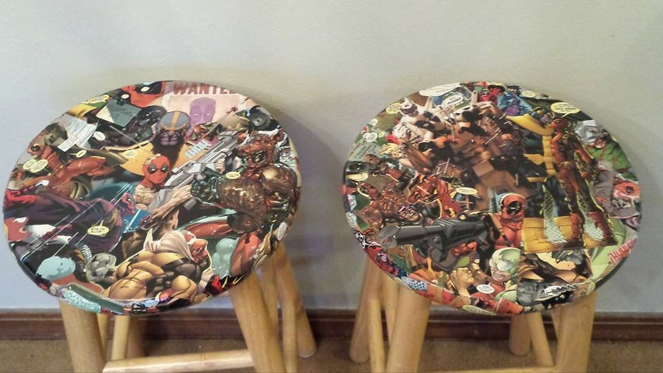 Deadpool Barstools