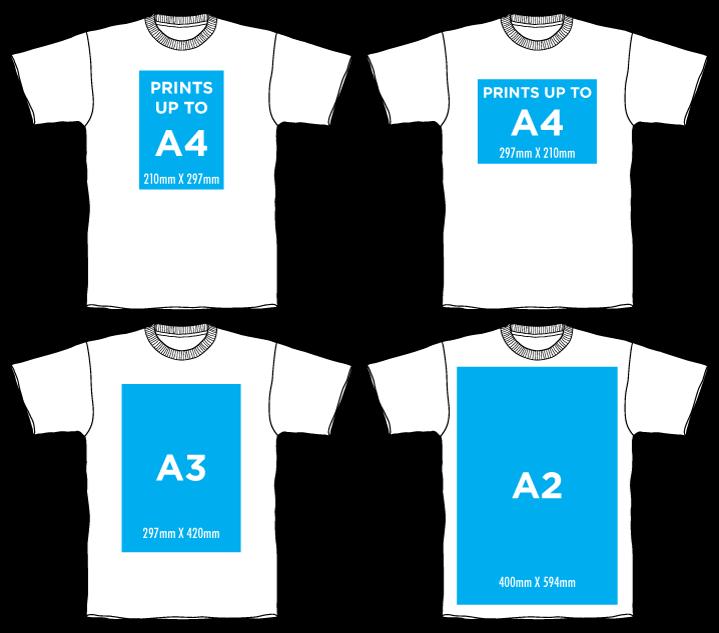 esp custom screen printing print size guide esp
