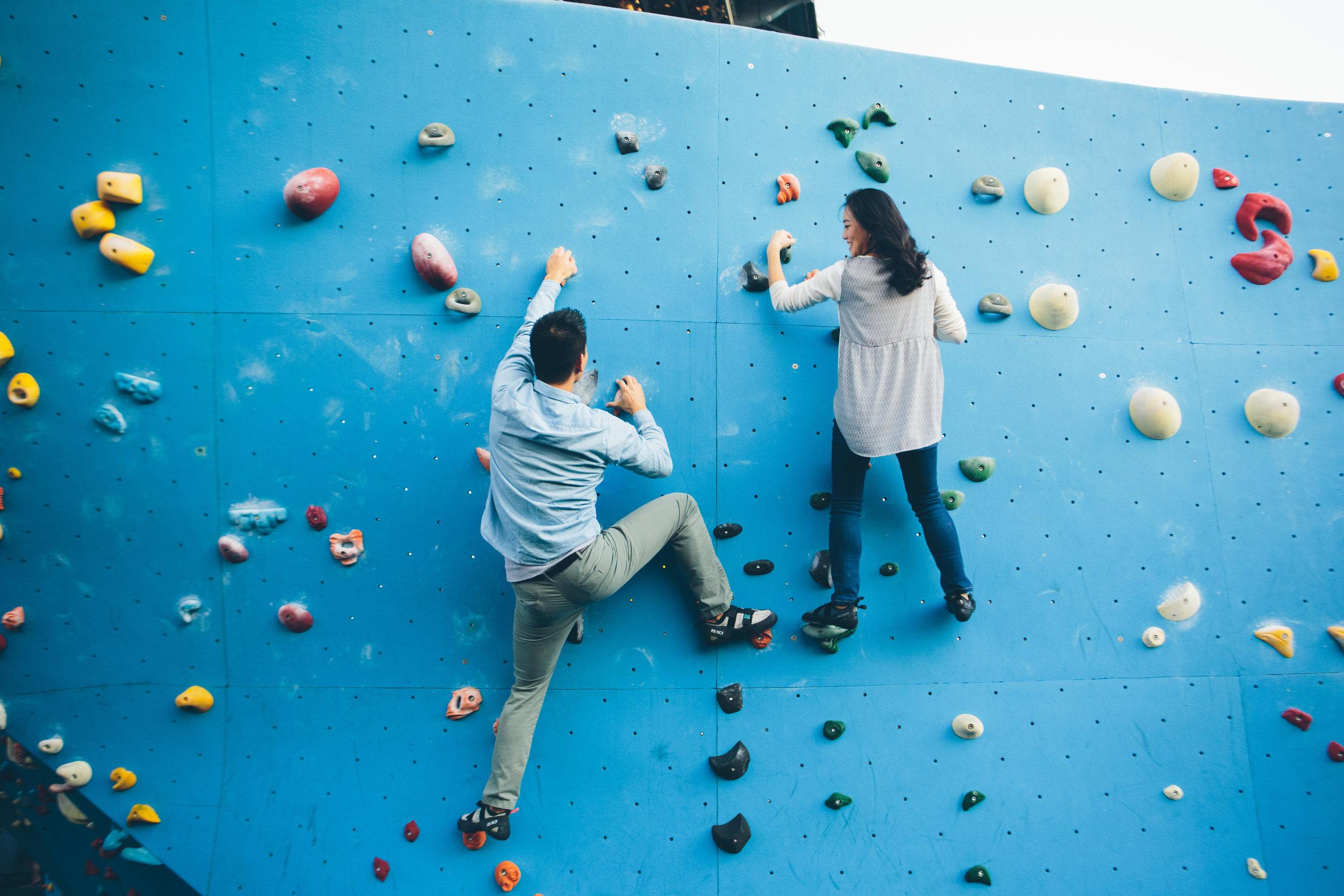 brooklyn boulders — New York City Wedding, Engagement