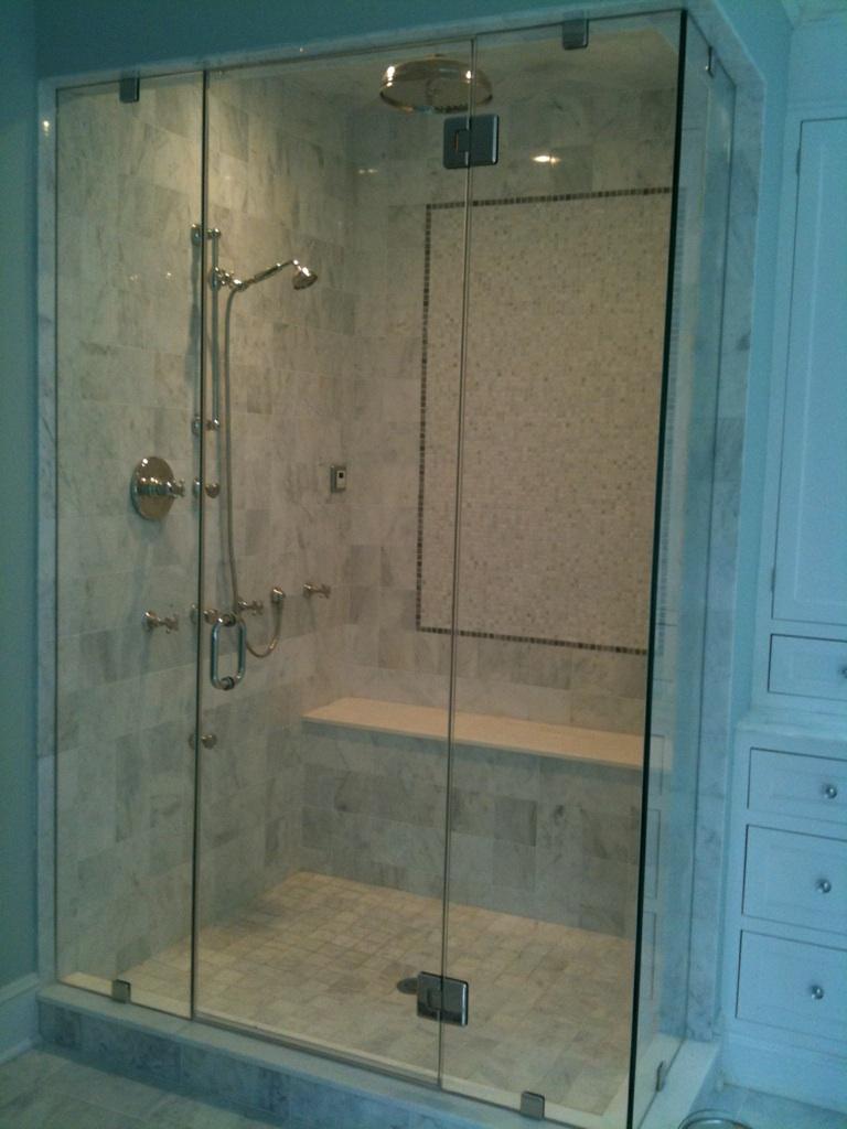 Shower Doors — Associated Glass and Mirror
