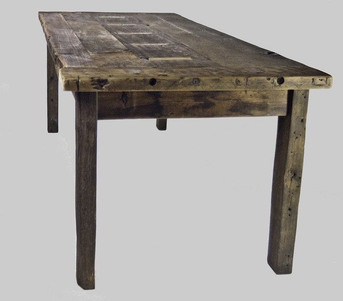 Primitive Poplar Table - Woodstock Vintage Lumber Nashville's Original Reclaimed Lumber