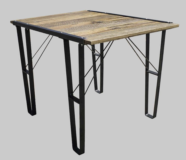 Rollins Console Table: Woodstock Vintage Lumber Furniture