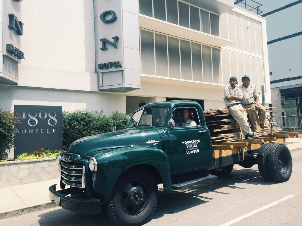 Woodstock Vintage Lumber