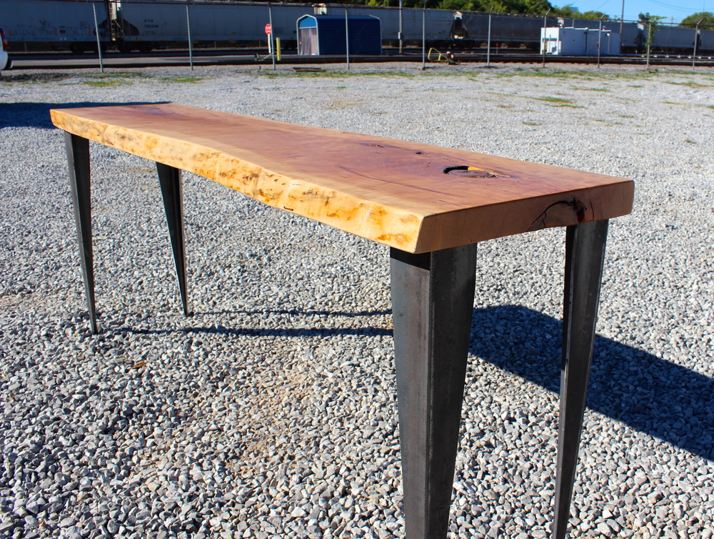 Natural Edge Cherry Table