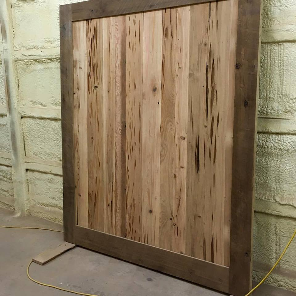Large Cypress Slider Door