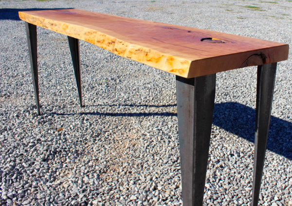 Live Edge Cherry Table
