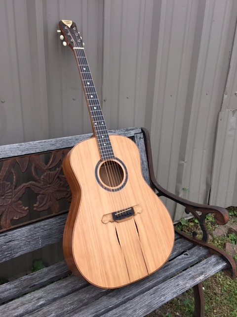 Guitar built by Daren Gallman