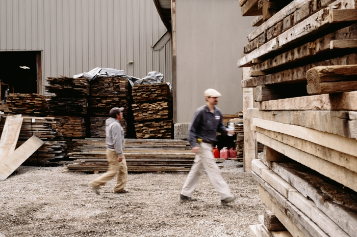 Nashville lumberyard