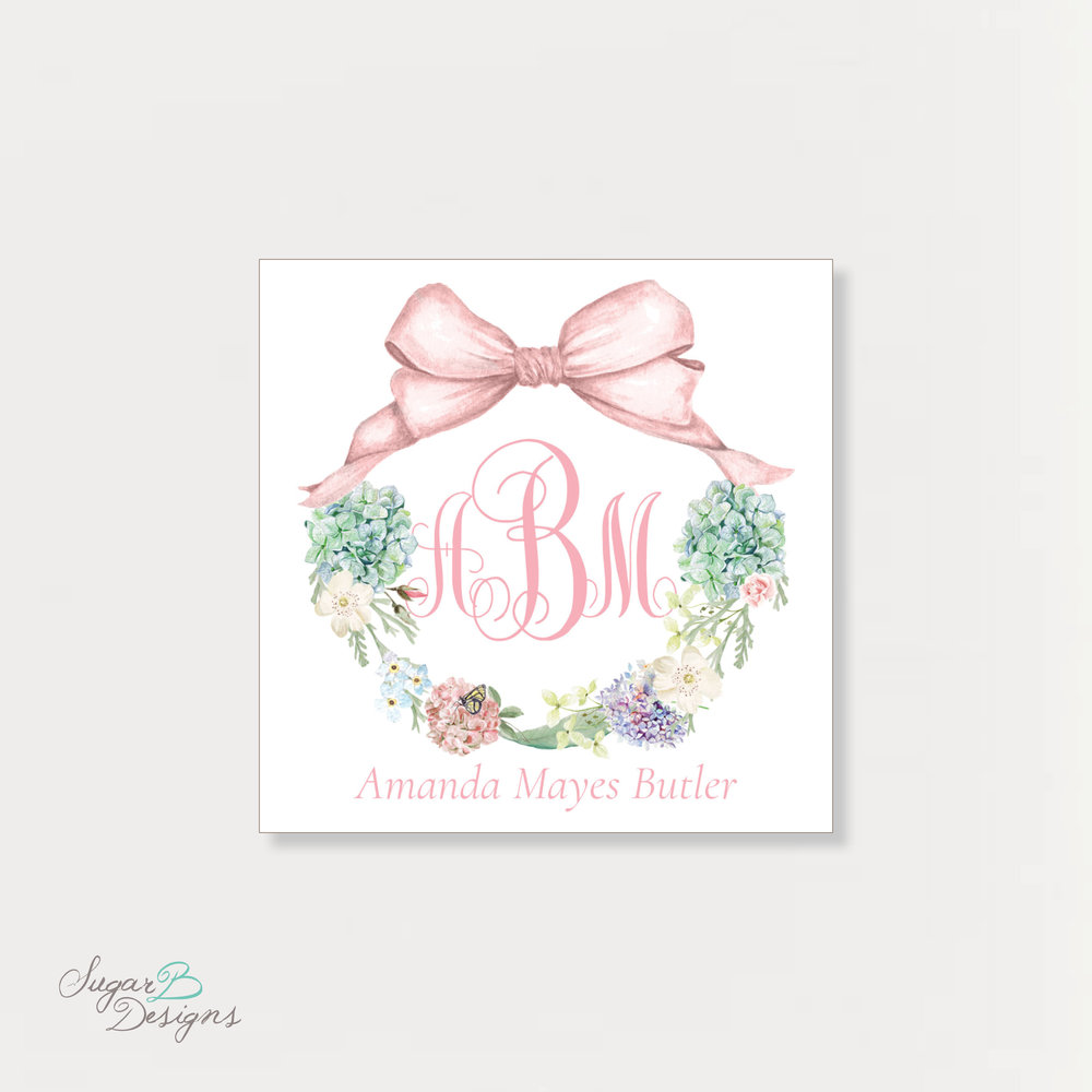 Secret Garden Calling Card by Sugar B Designs