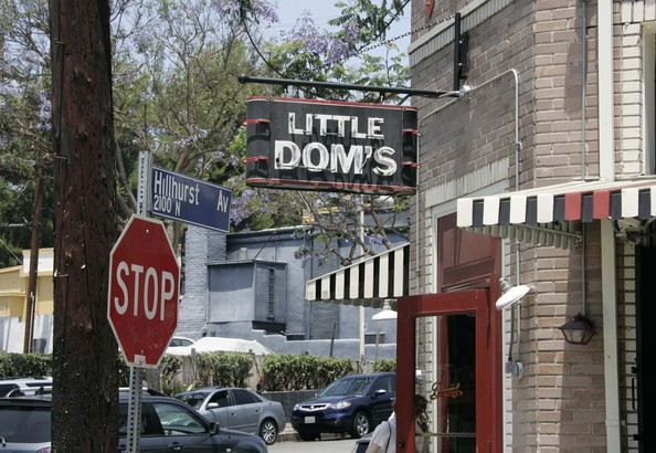 Little Dom's - one of the many reasons that Los Feliz makes is a good place for a vacation rental