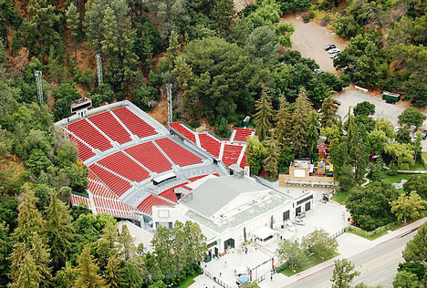 The Greek Theatre is located at 2700 Vermont, Los Feliz