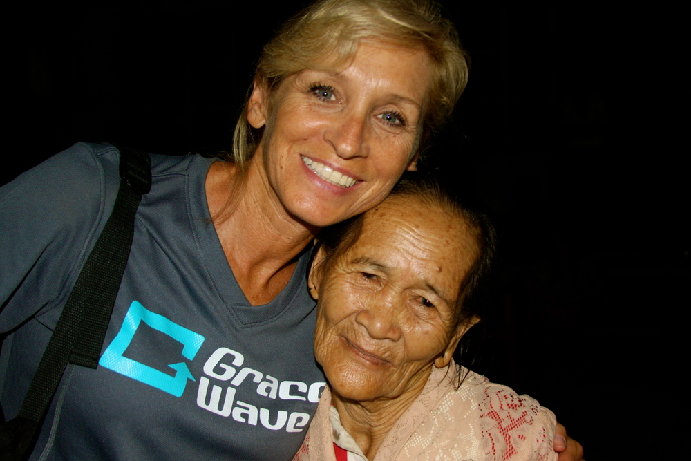 sharing love and grace in Sumatra