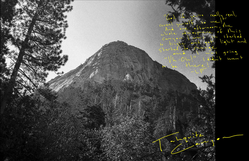 "On a trip back to Southern California, - Lonnie had a divine encounter in a cave in Tahquitz Canyon. Lonnie had a vision from God, ""clear as crystal,"" in which he saw ""thousands and thousands of young people at the ocean, lined up in huge crowds along the coast, and they were going out into the water to be baptized."" According to Lonnie, he ""knew instantly that Jesus was real and that he was calling me to follow him."" After recommitting his life to Christ and receiving the call to ministry, Lonnie returned to San Francisco, quit art school, and took his first steps toward ministry as an evangelist. He met and quickly joined Ted Weiss and other Christian families in a communal ministry house called the Living Room in Novato, California. During this period, Lonnie witnessed to a young woman named Connie Bremer, who became a Christian and soon after, his wife. Together, they lived in the Living Room, and Lonnie took to the streets, feeding the hungry, open-air preaching, and even hitchhiking in order to share the gospel."