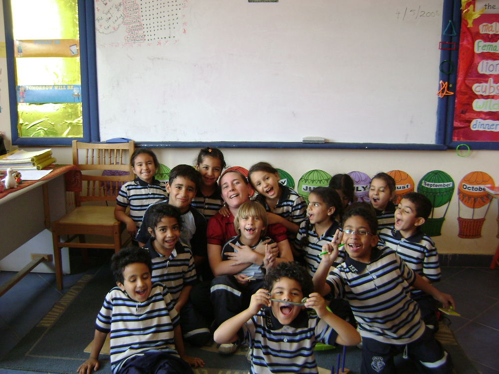 My favorite class for hugs!  Grade 1A, 2006