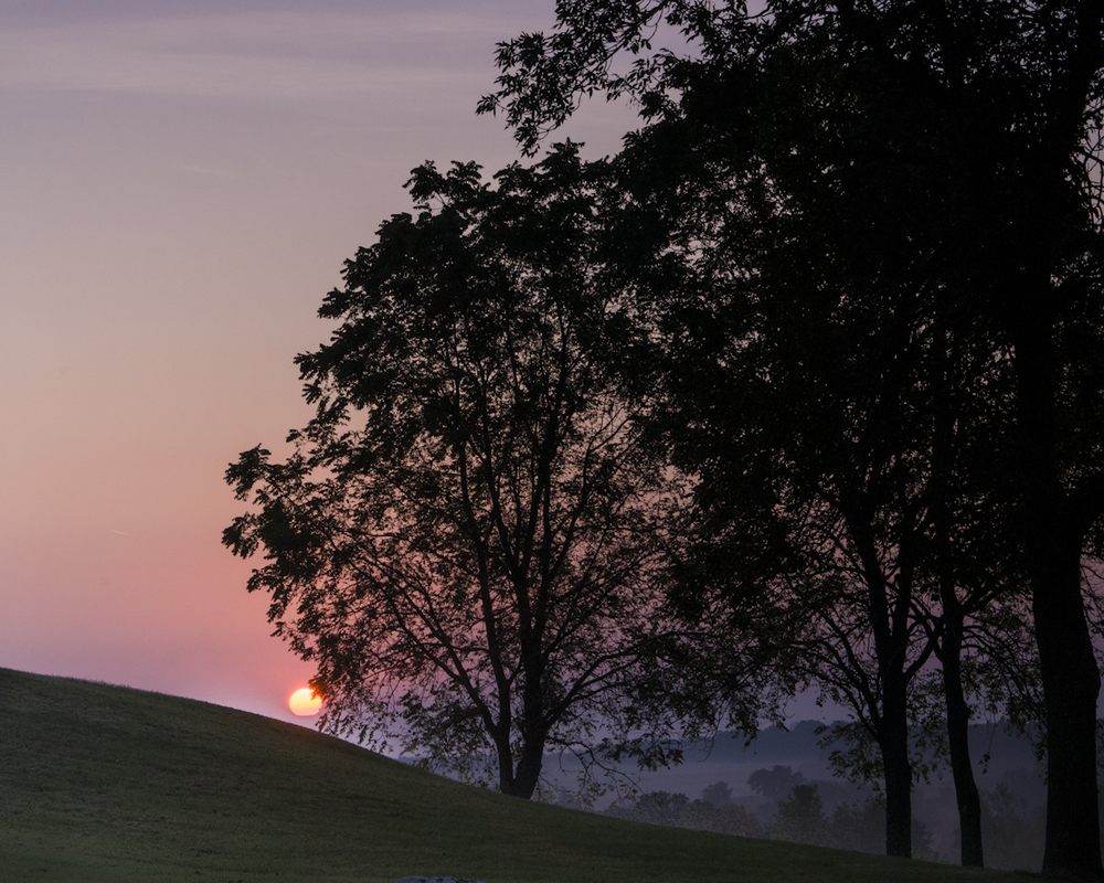 Marker Mound Sunrise