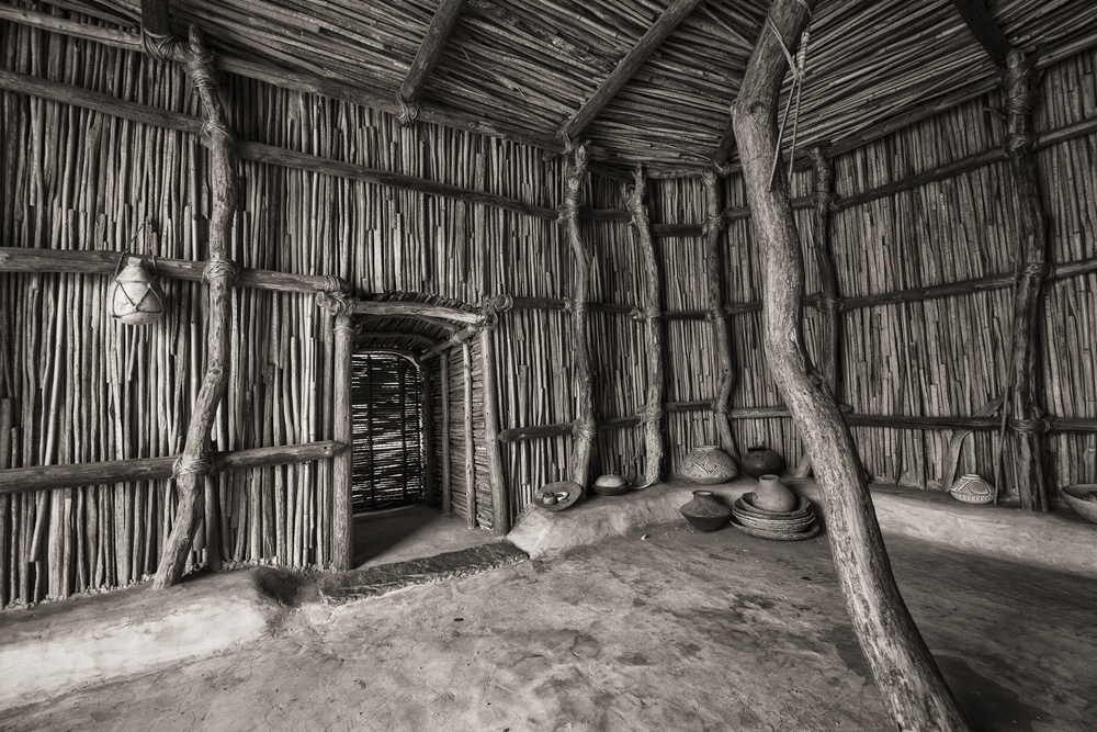 Pueblo Grande: Interior of Reconstructed Dwelling