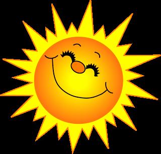 Sunshine Clip Art #9561.png