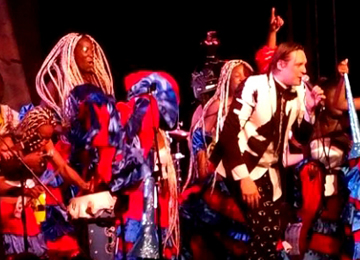 BBC/PRI's THE WORLD   ARCADE FIRE's HITS KARNAVAL IN HAITI