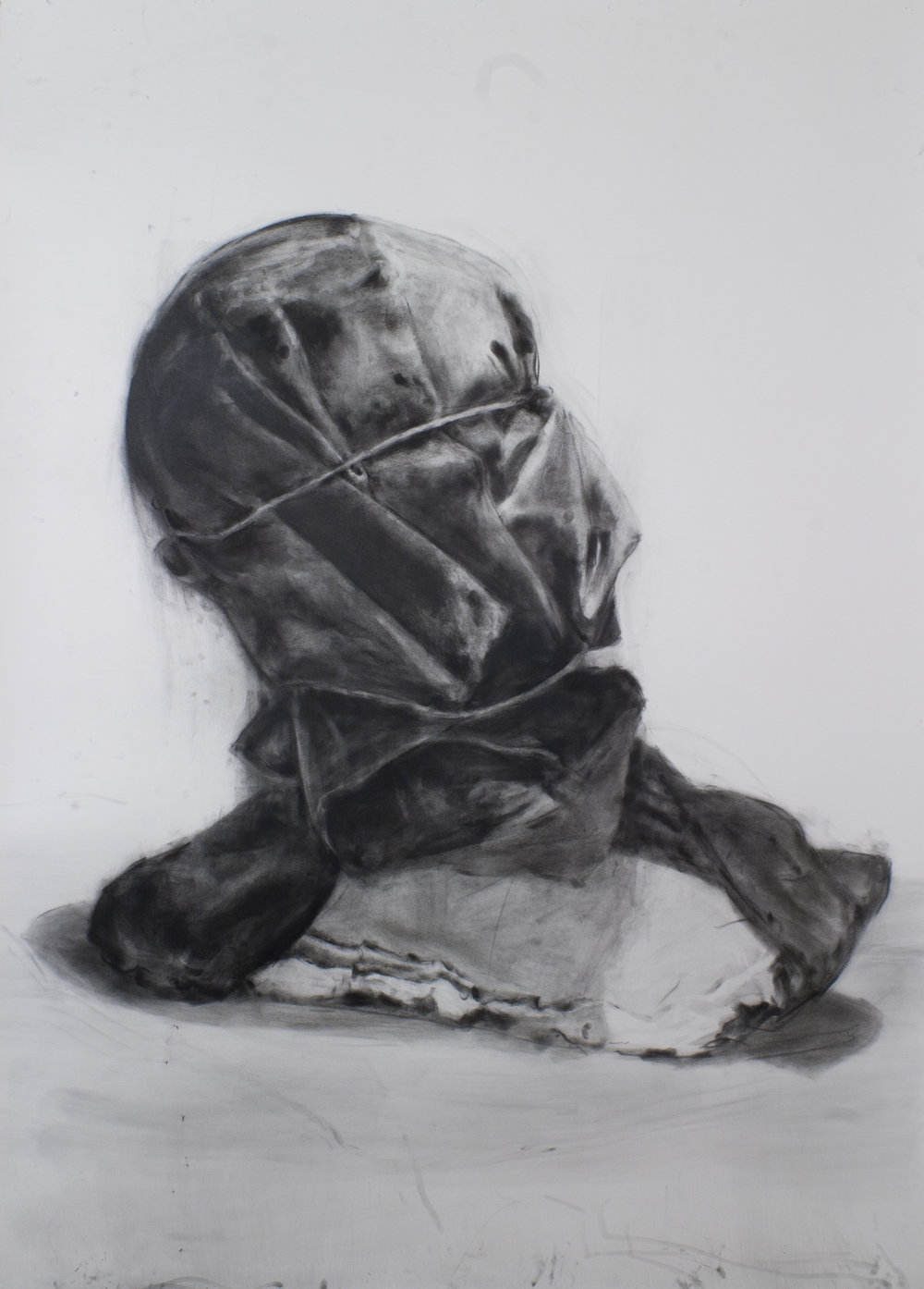 Self-Portrait with Shroud