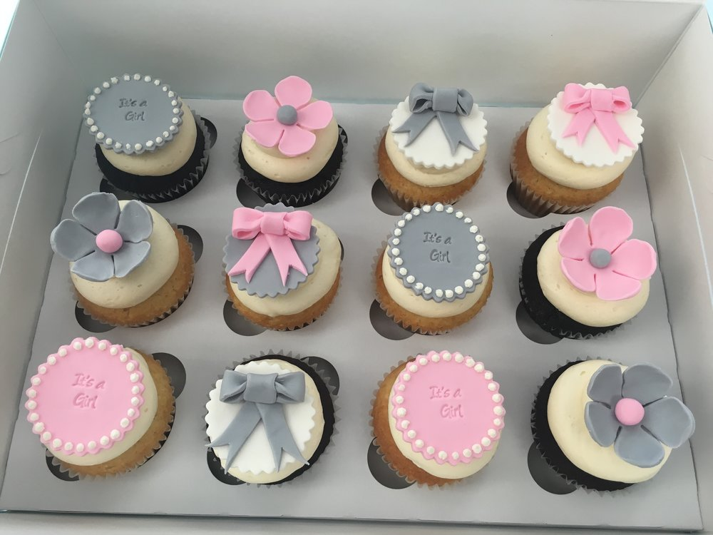 Baby Shower Dozen (Girl or Boy)  $57 regular $60 gluten-free