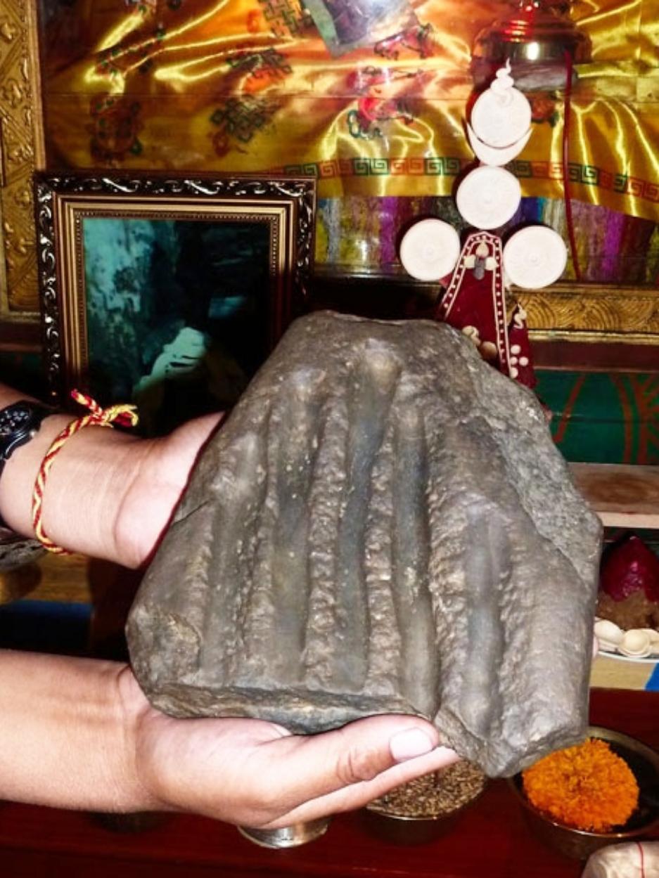 Stone Impression of Yeshe Tsogyal's Hand