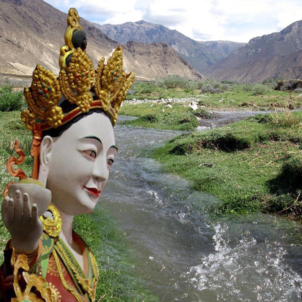2009 Valley of Drak. R. Tonissen, composite Lama Dechen Yeshe Wangmo