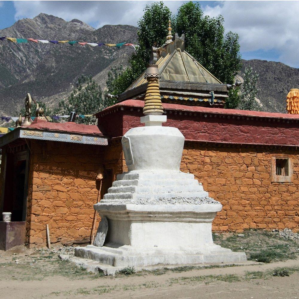 Enlightenment Stupa 2009. Lama Dechen Yeshe Wangmo