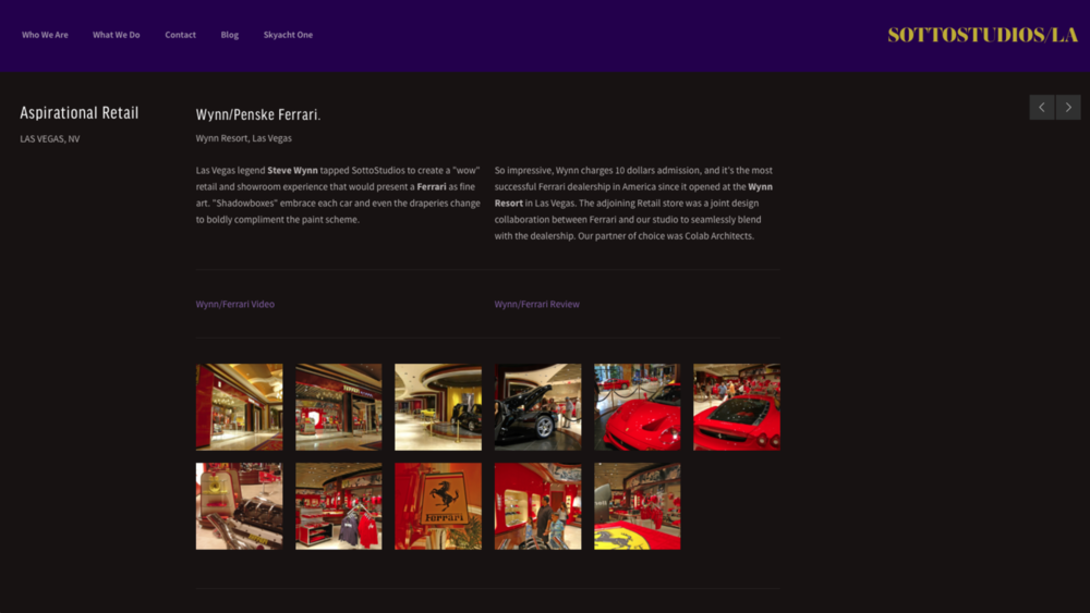 Wynn Ferrari - Luxury Retail