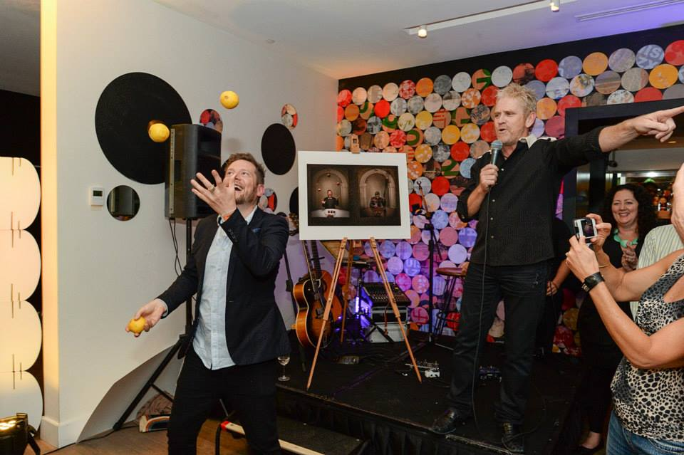 $16,000 raised for charity at the Nikon Dinner, in the auction of two 1/2 prints by Mandarine Montgomery.