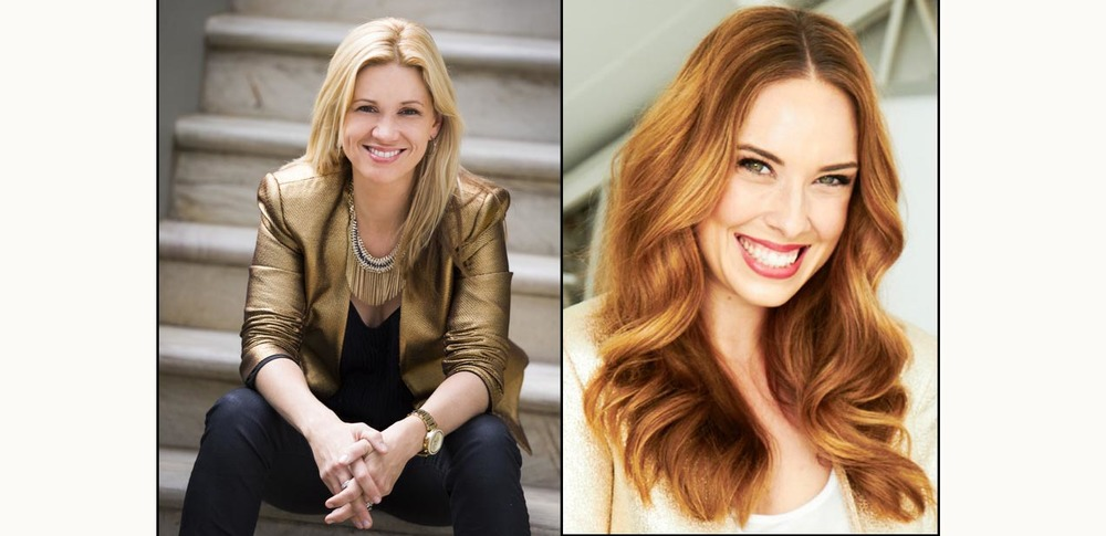L - R: Bridal Coach, Rachael Bentick and Editor of Cosmo Bride, Alexis Teasdale