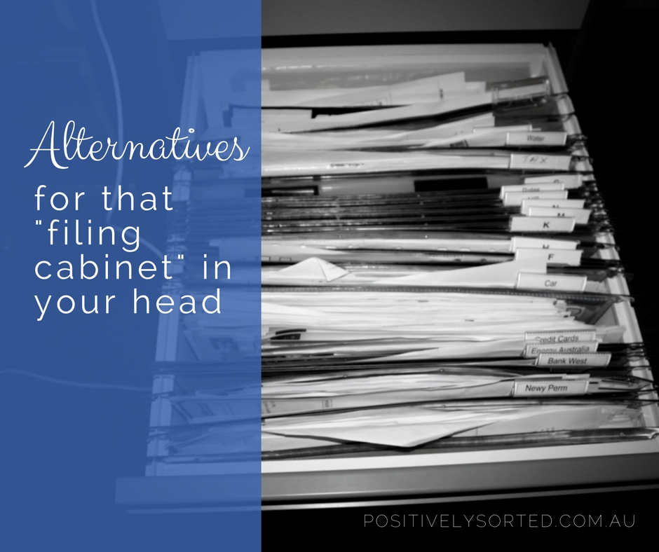 alternatives for mental filing cabinet