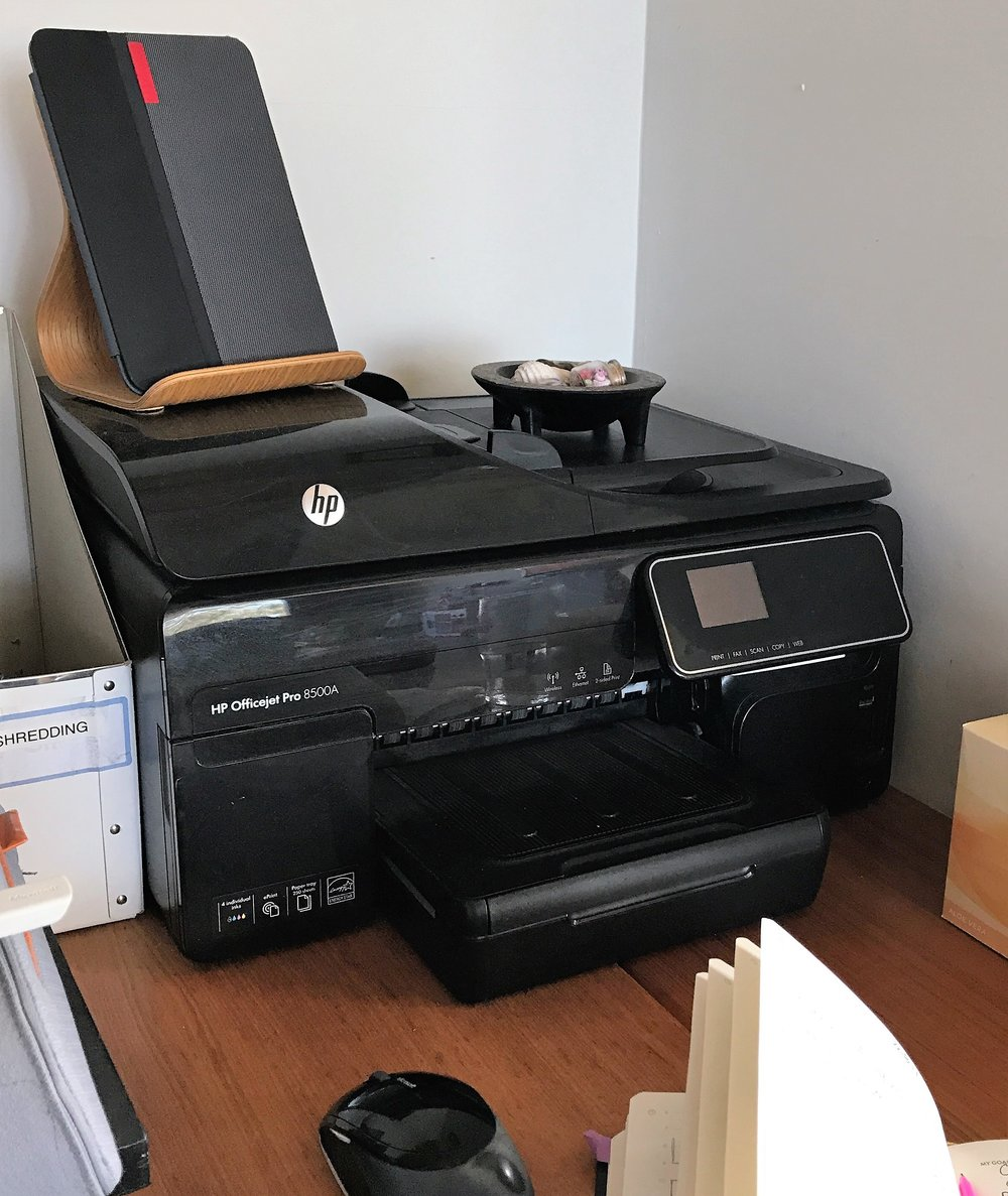 Now it's just a printer!