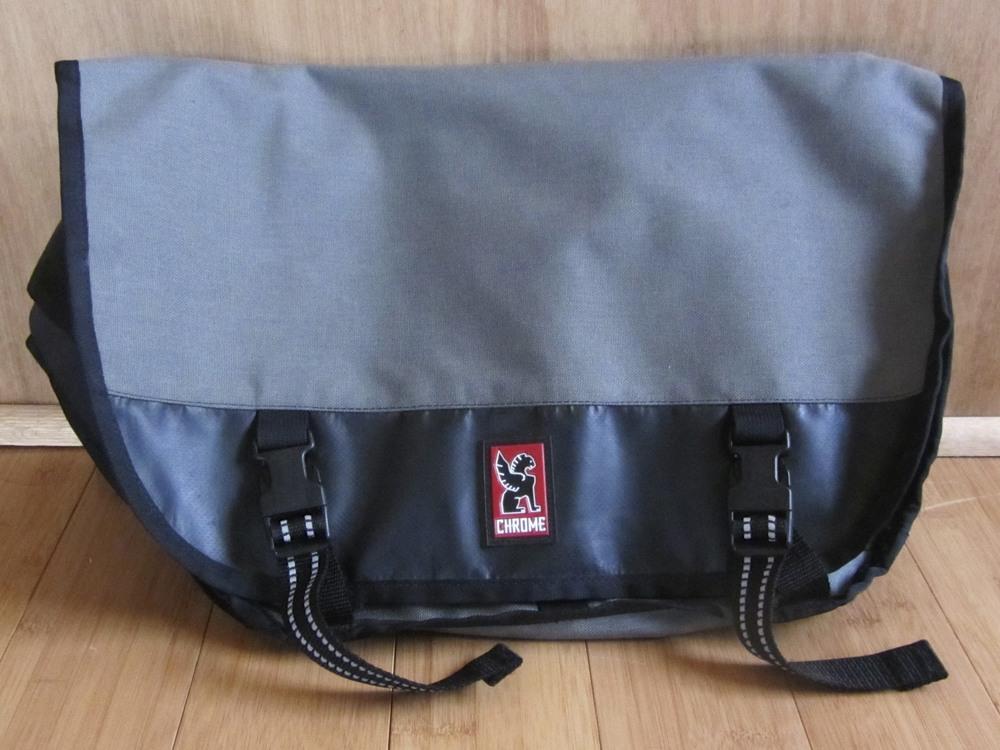Chrome Mini-Metro Buckle Bag