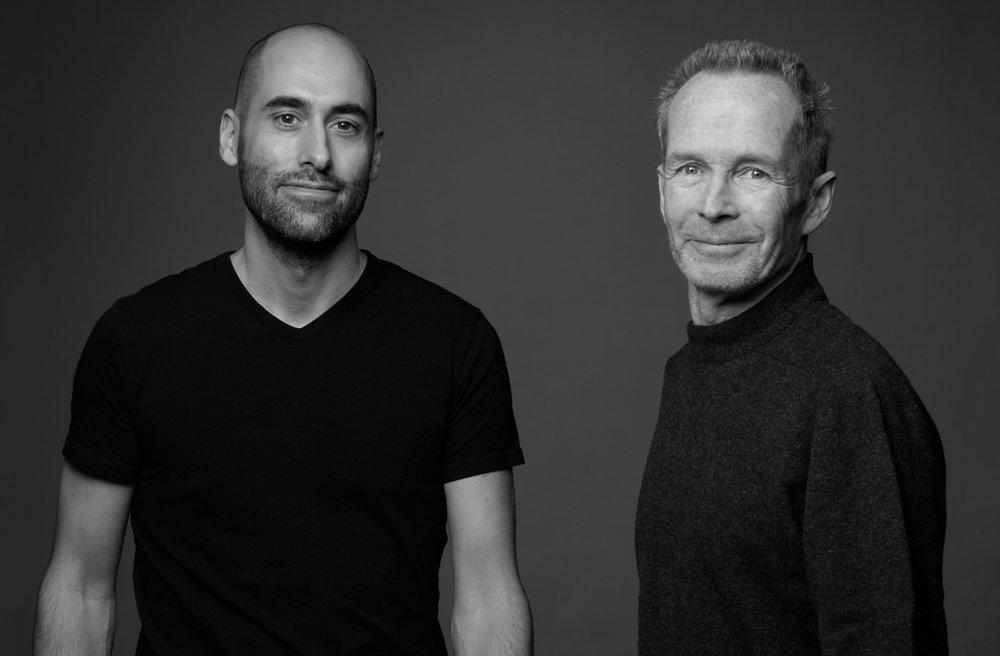 The Co-Founders of o4i Design Studio; Henrik Kjellberg and Jon Lindström.