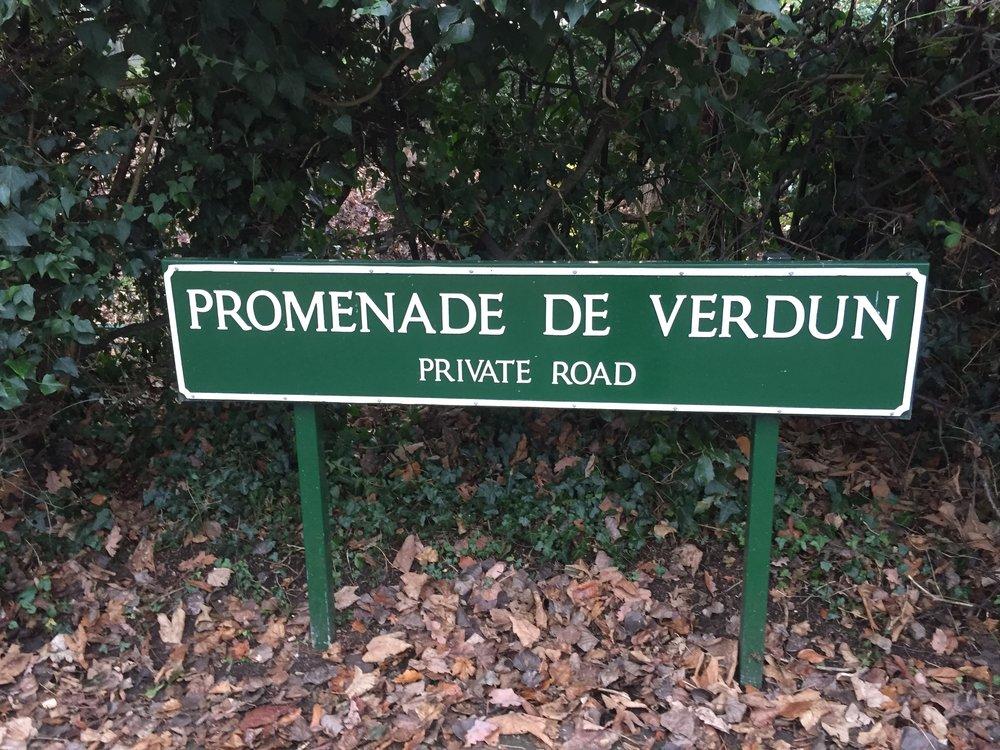 PROMENADE DE VERDUN