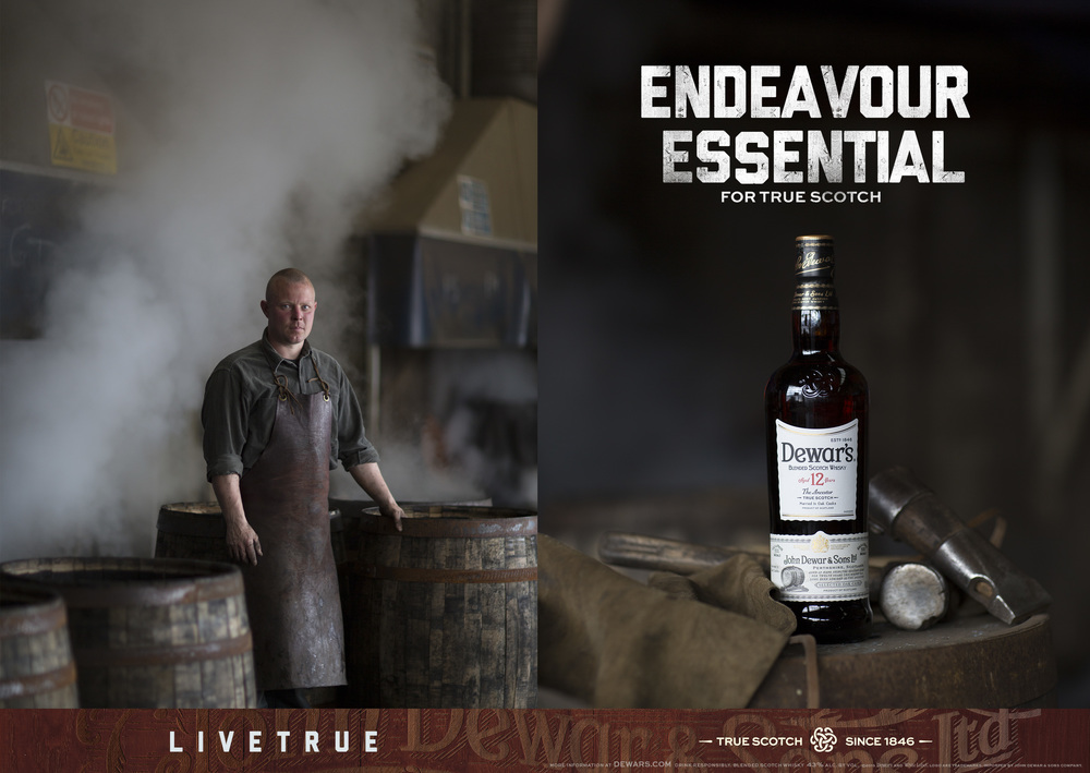 David Eustace for Dewars
