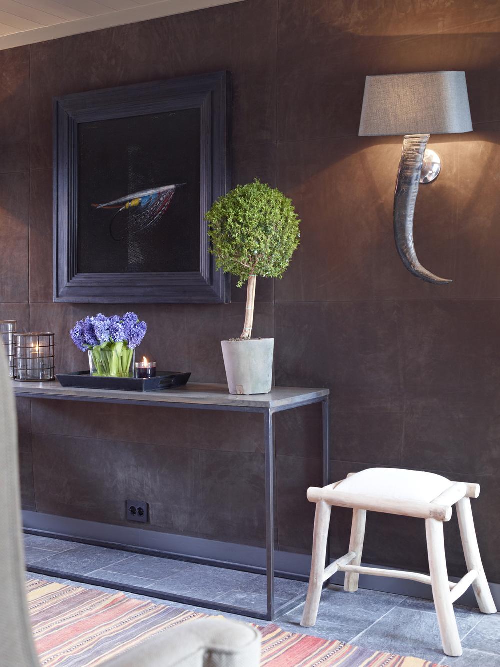 Sidebord Med Steinplate