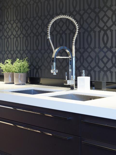 Underlimt Corian Kjøkken Vask